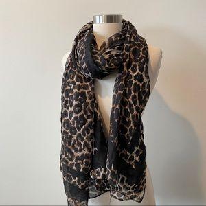 Nordstrom BP leopard scarf